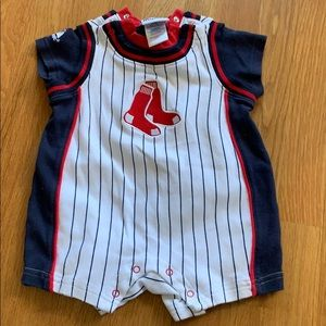 Red Sox one piece shorts, 18 month